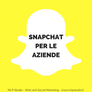 SnapChat per le aziende