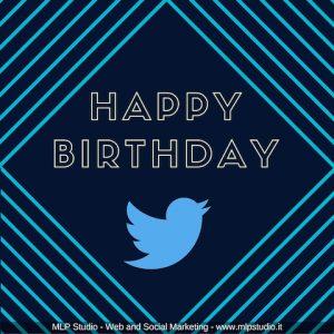 Twitter festeggia 10 anni
