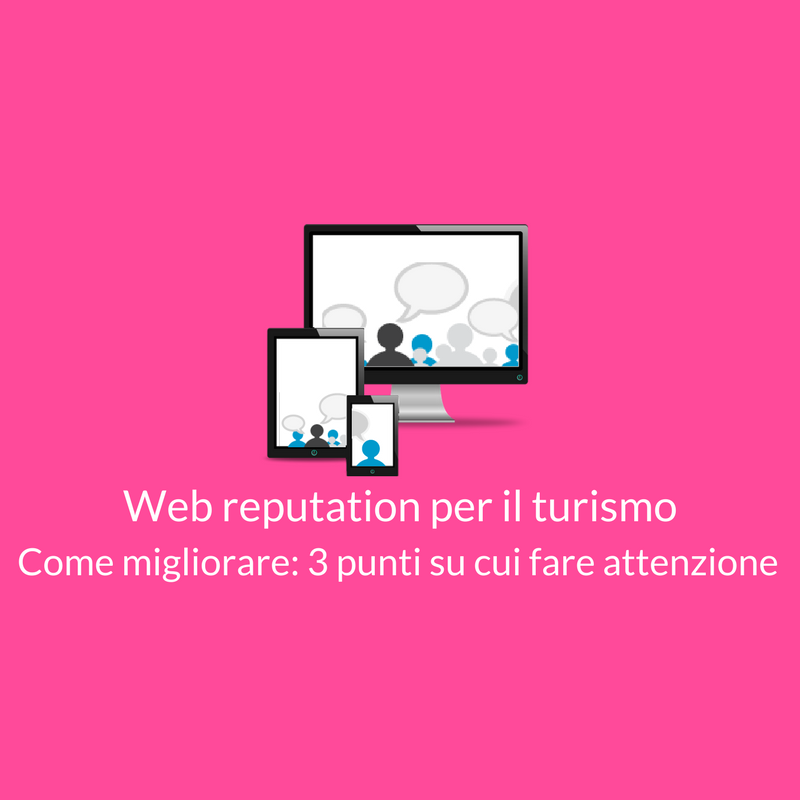 Web reputation per il turismo