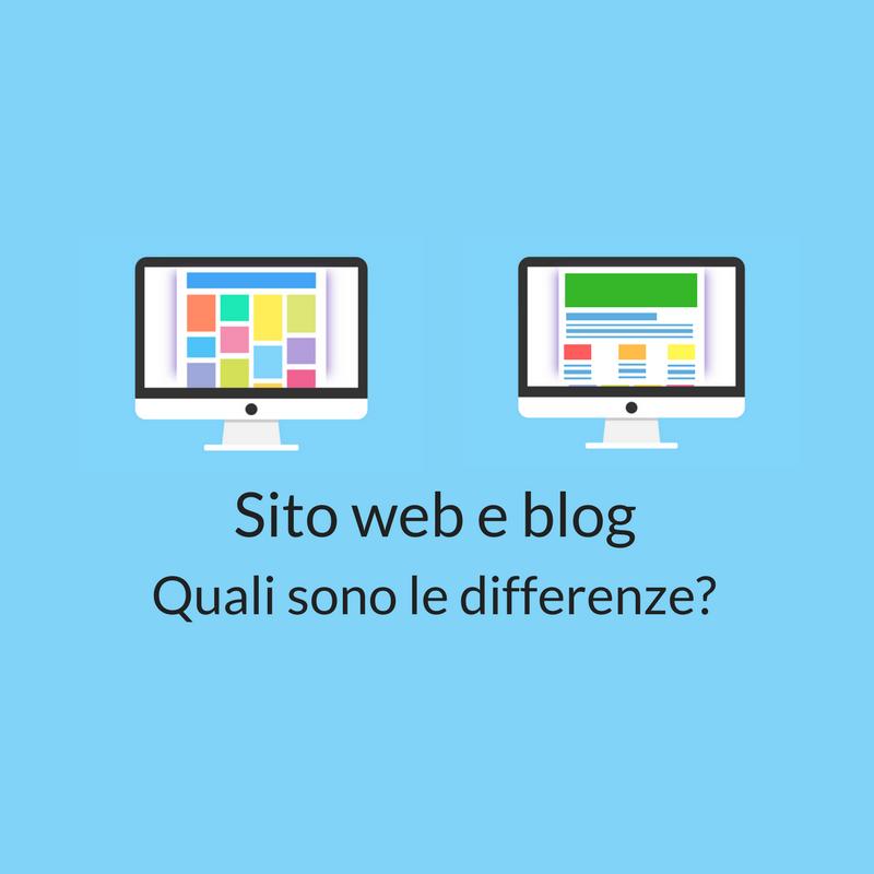 blog e sito web