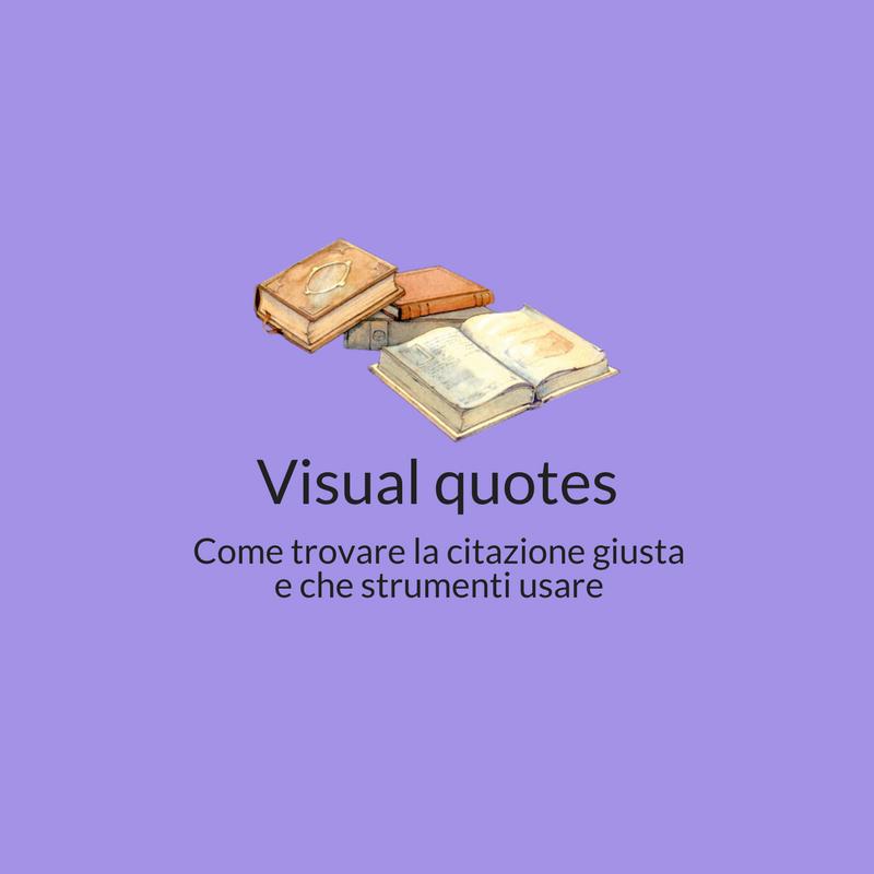Visual quotes
