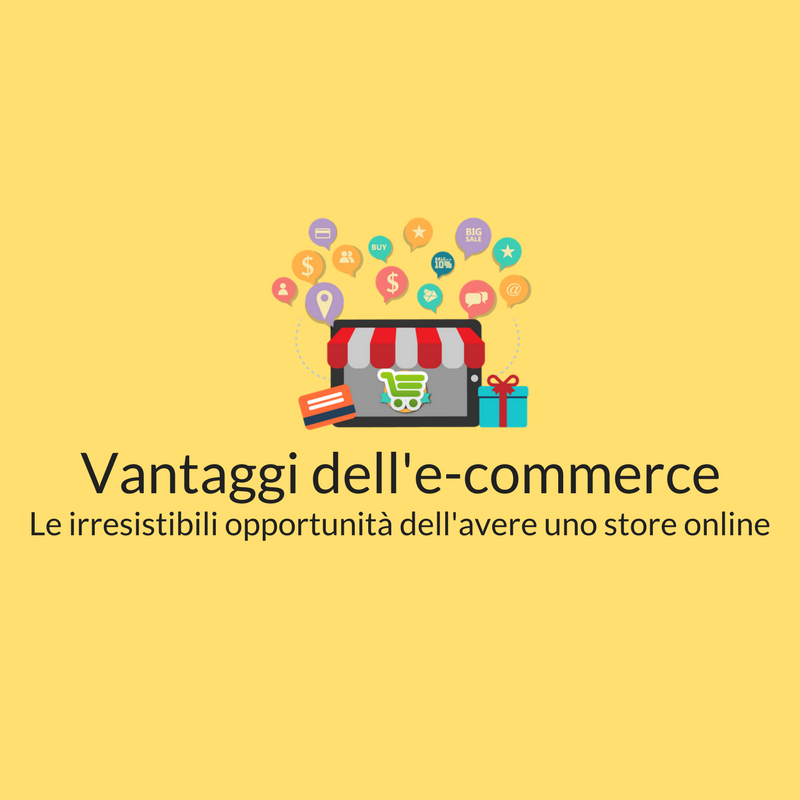 vantaggi dell'e-commerce