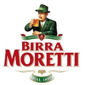 Il logo della Birra Moretti.