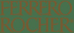 Il logo di Ferrero Rocher.
