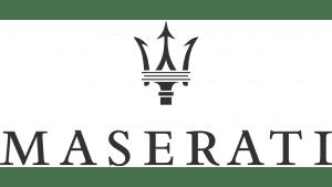 Il logo di Maserati.