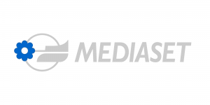 Il logo di Mediaset.