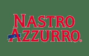 Il logo di Nastro Azzurro.
