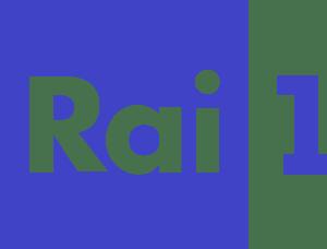 Il logo di Rai 1.
