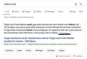 aggiornamento algoritmo di google data