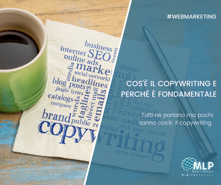 Che cos'è il copywriting e perché è fondamentale  - digital agency blog
